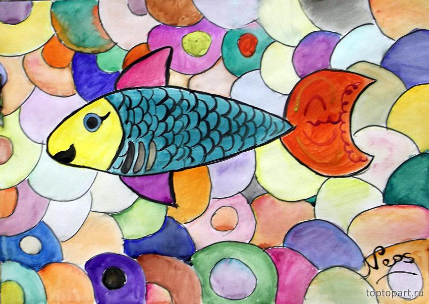 картинки мозаика рисовать авторов