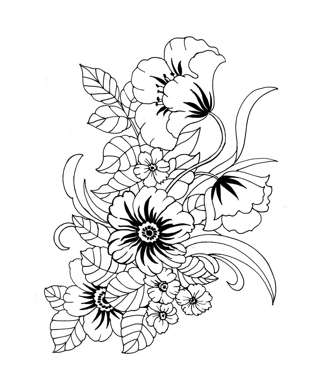 Открытки фото, цветок открытка раскраска