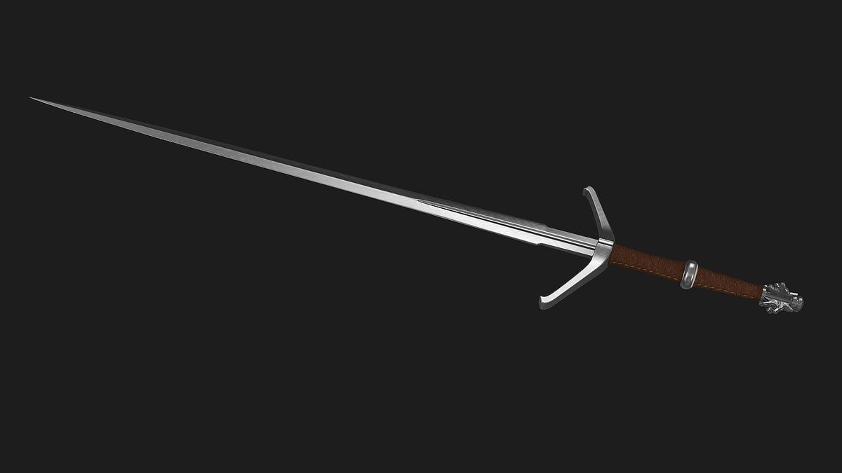 меч ведьмака фото параметров