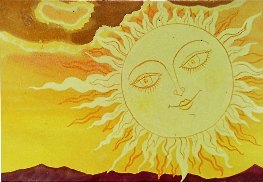 Картинка портрет солнышка
