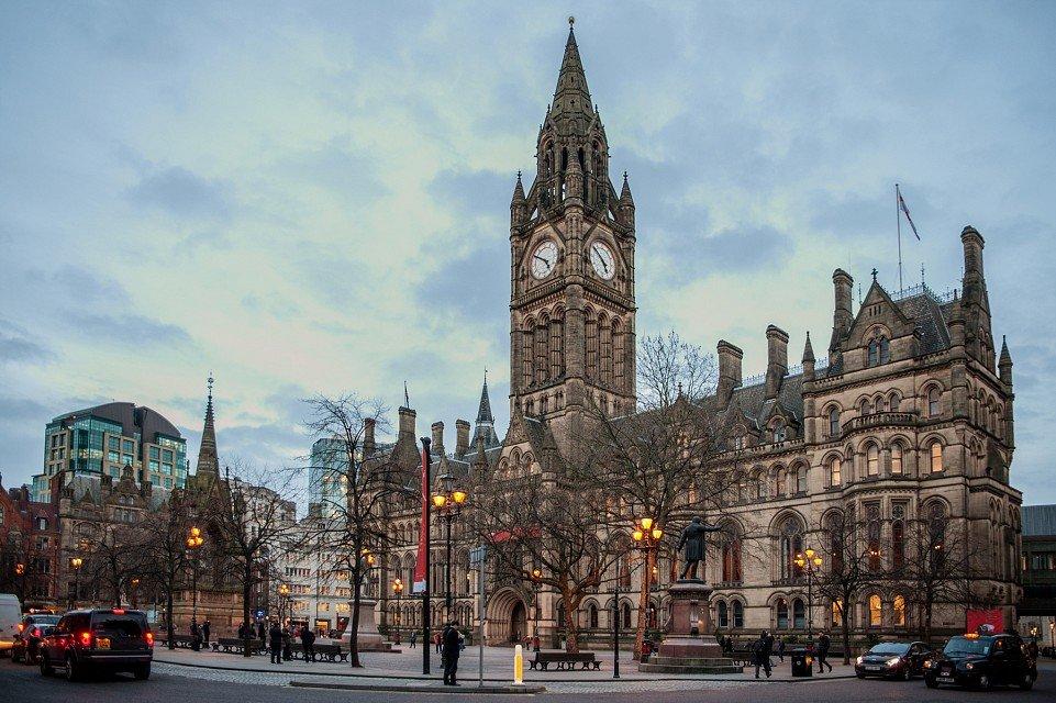 Манчестер город в картинках