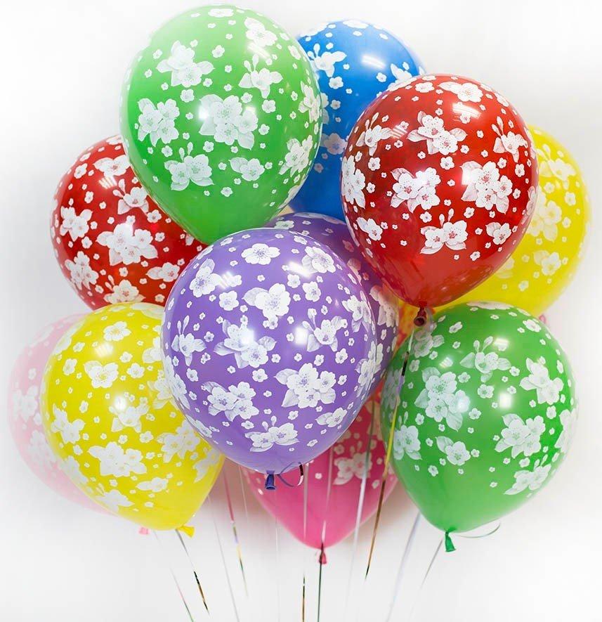 картинка много красивых шариков