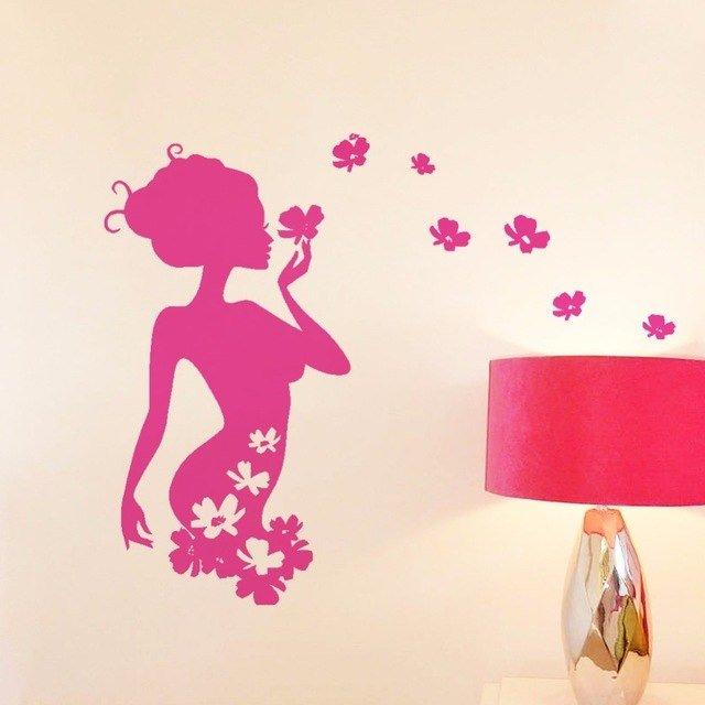 Красивые открытки девушке на стену