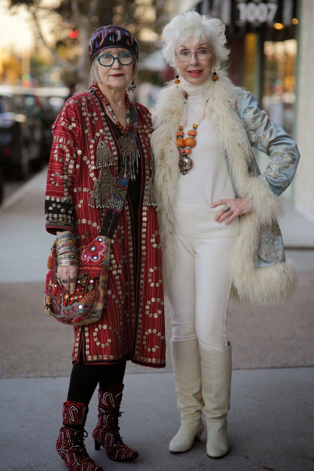 Картинки старушек модниц