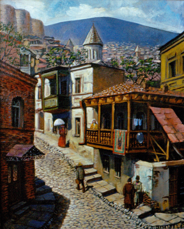 Картинки тбилиси рисунок