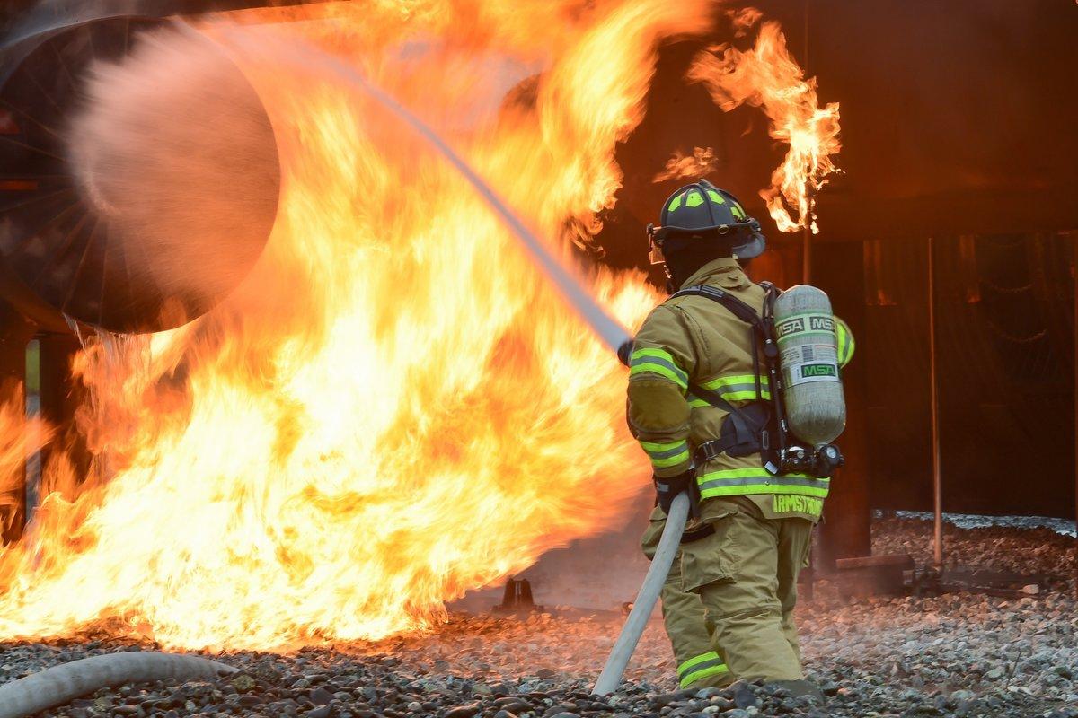 Вечер, крутые картинки с пожарными