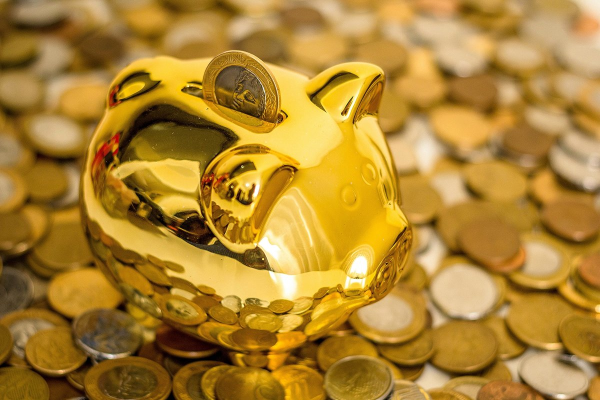 Бумажная, красивые картинки денег и золота