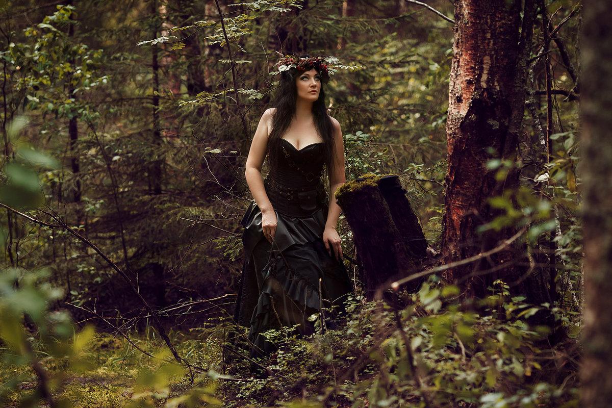 является фотосессия ведьма в лесу фото нужные параметры