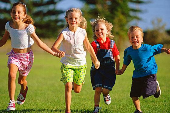 Дети в движении в картинках для детей