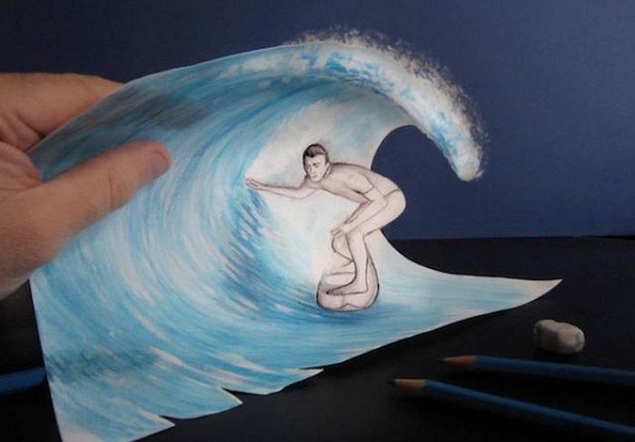 Нарисовать живую картинку