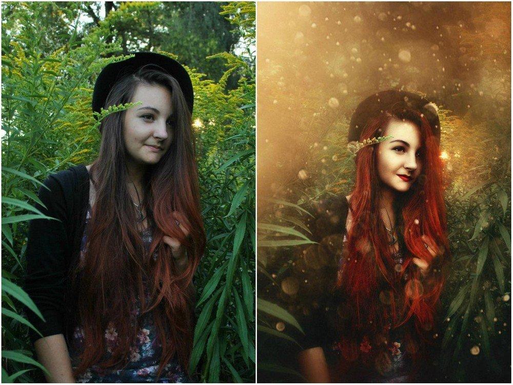как обработать портрет в фотошопе красиво - 14