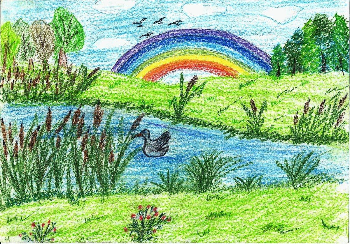Картинки о лете рисунки, объемная
