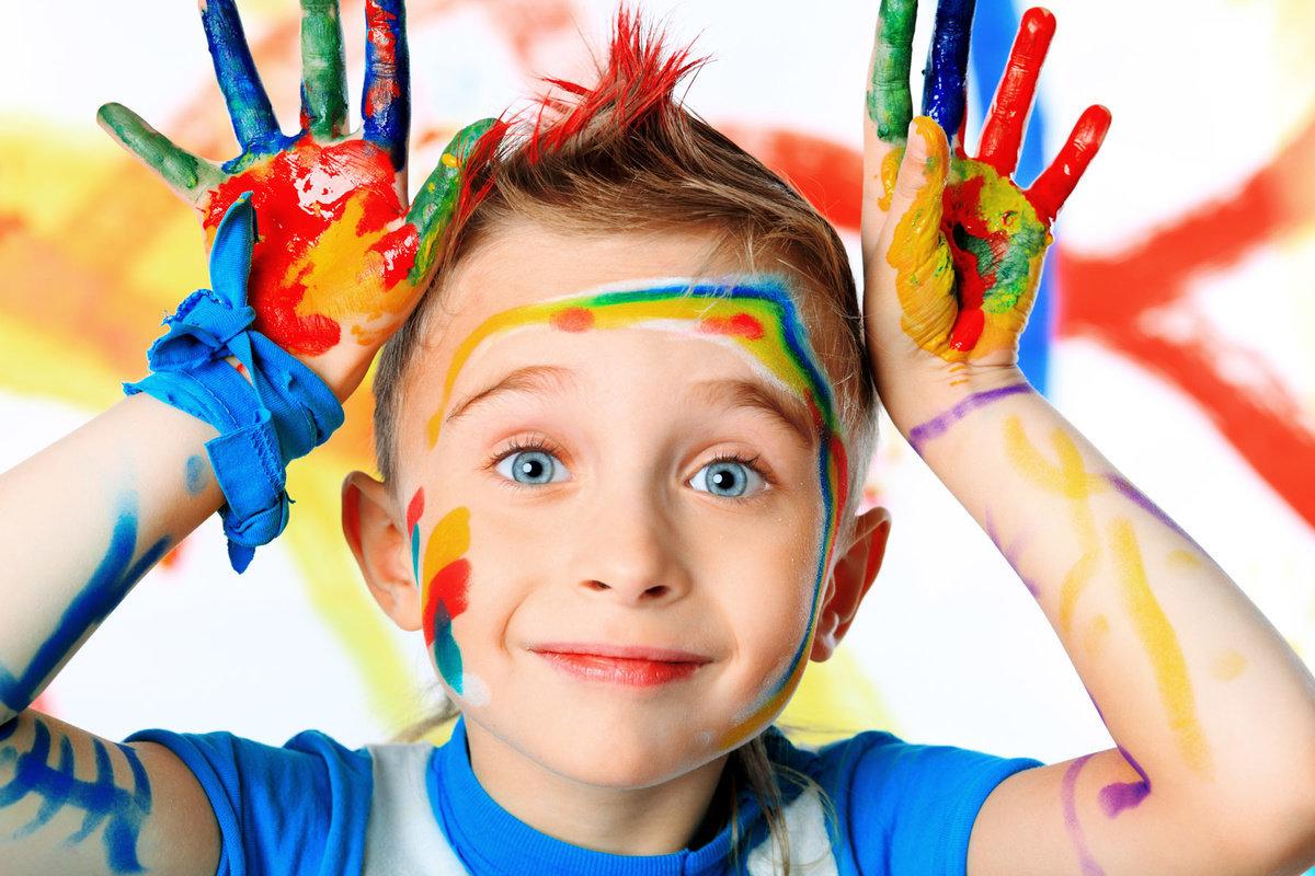 Рождением дочки, детское творчество картинки красками
