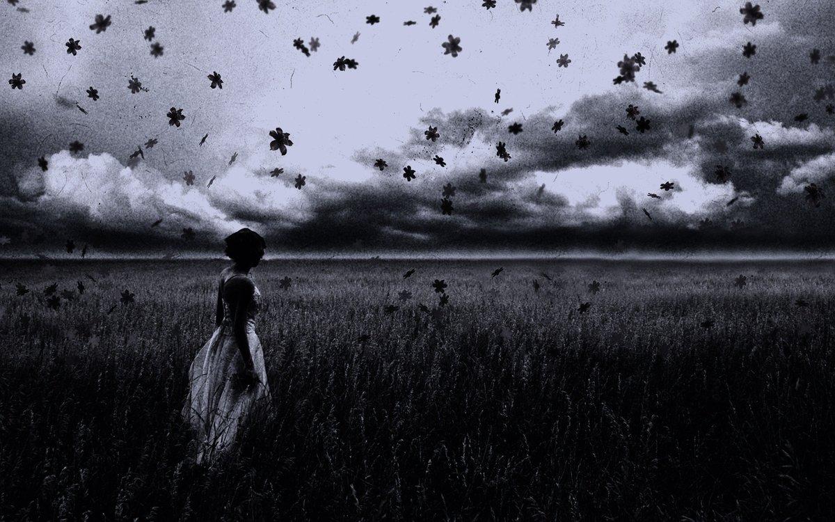Красивые картинки про грусть