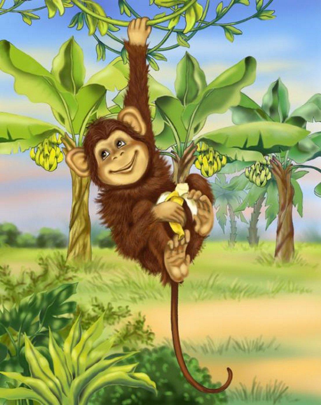 Своими руками, обезьянка в картинках
