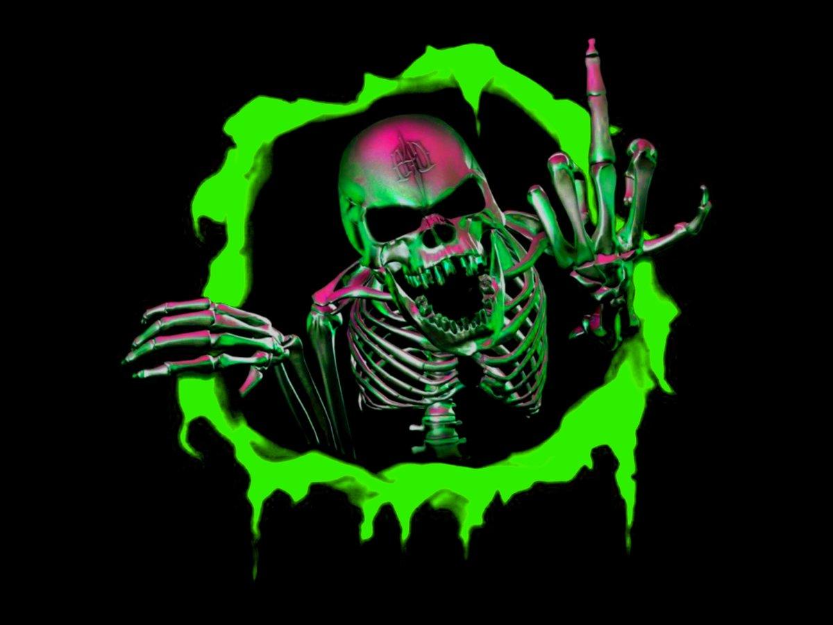 Первым, крутые картинки скелетов