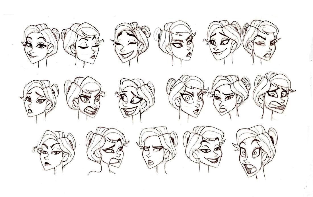 Art facial expressions — 12