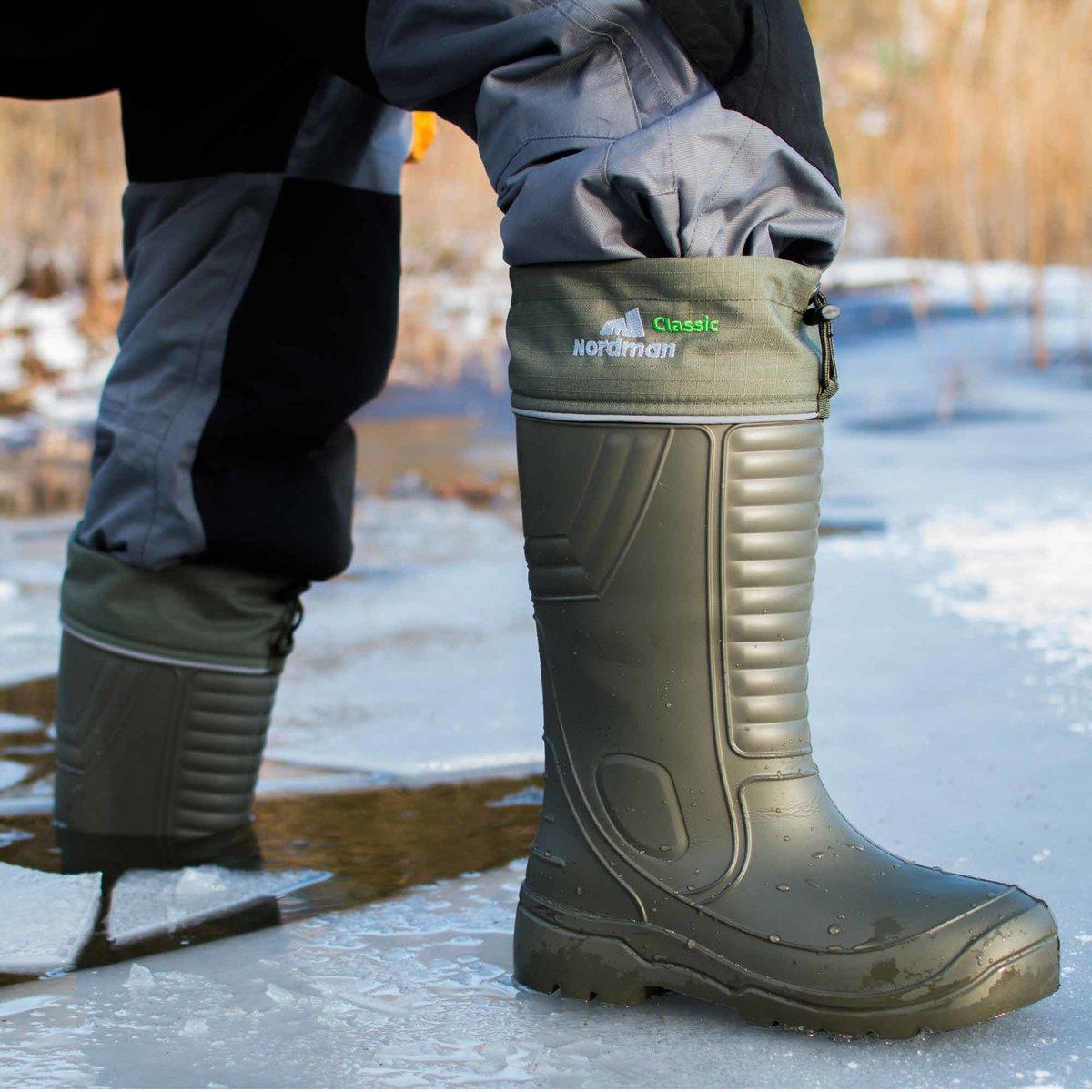 Зимние сапоги для рыбалки какие лучше