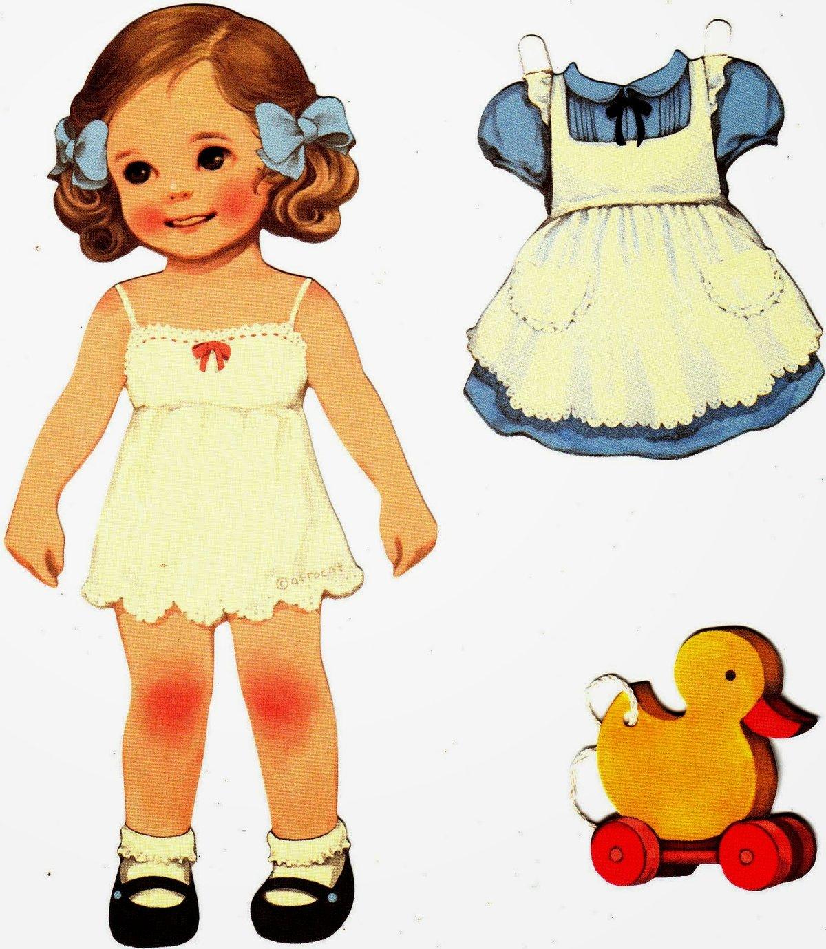 paper dolls - HD1200×1379