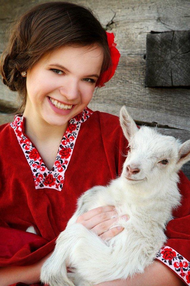 Картинка с козой и козами расписании