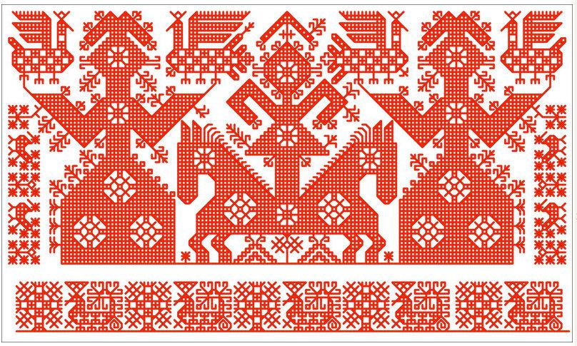 Картинка карельский орнамент