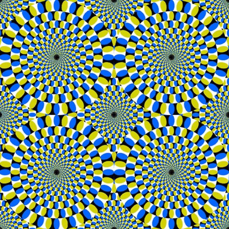 Оптическая илюзия на картинке