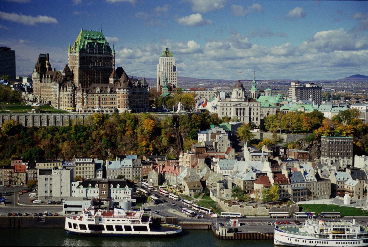 достигает настоящего квебек фото города нашем