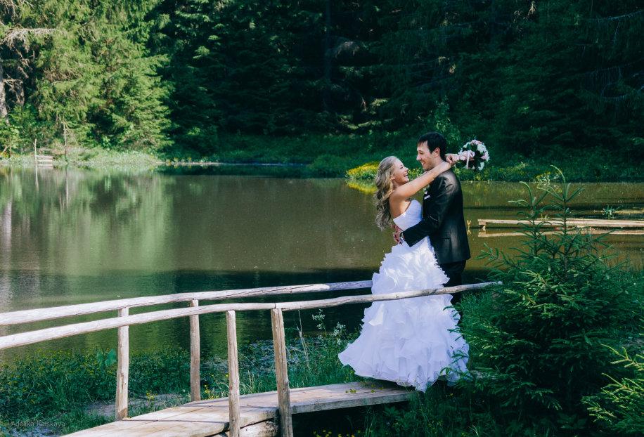 Свадебные фотосессии на мосту петра первого