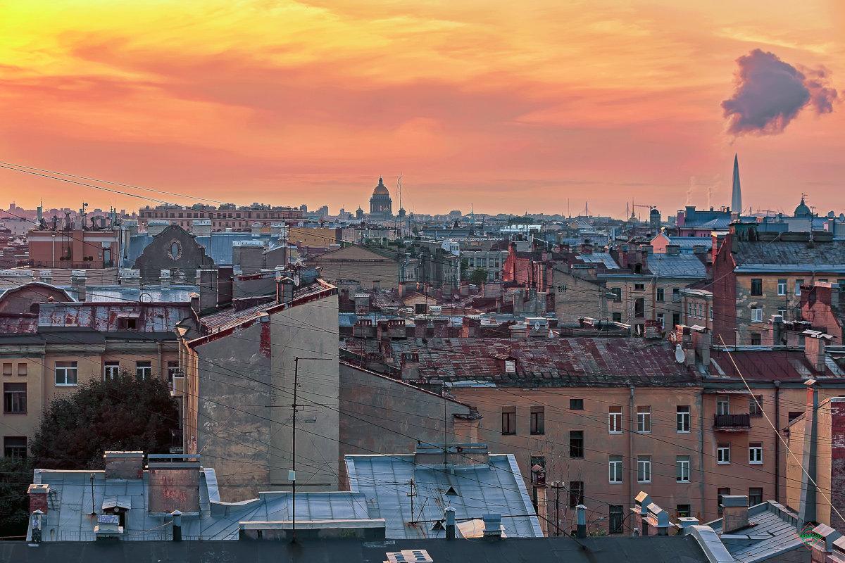Крыши петербурга фото в хорошем разрешении