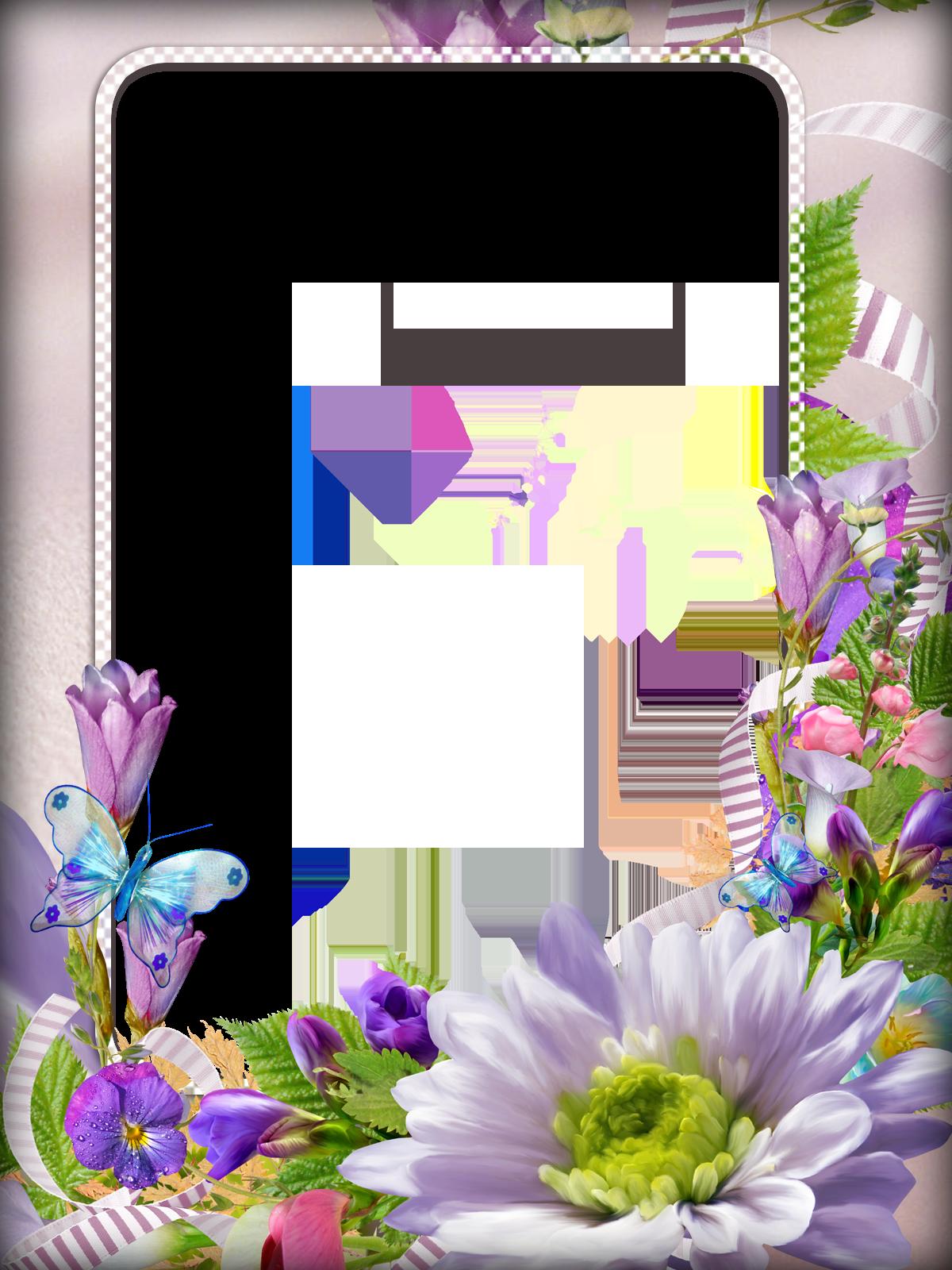 Днем рождения, картинки цветы рамки