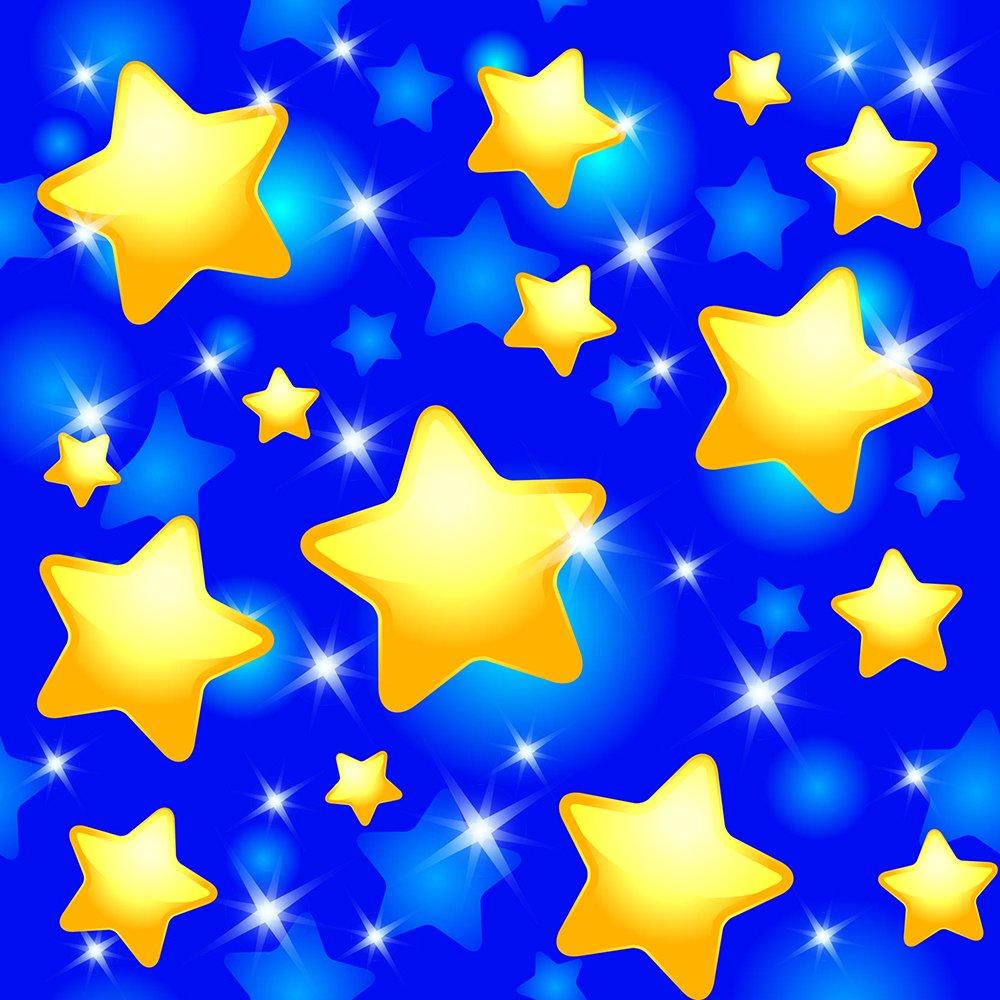 Днем, звездный фон для открытки