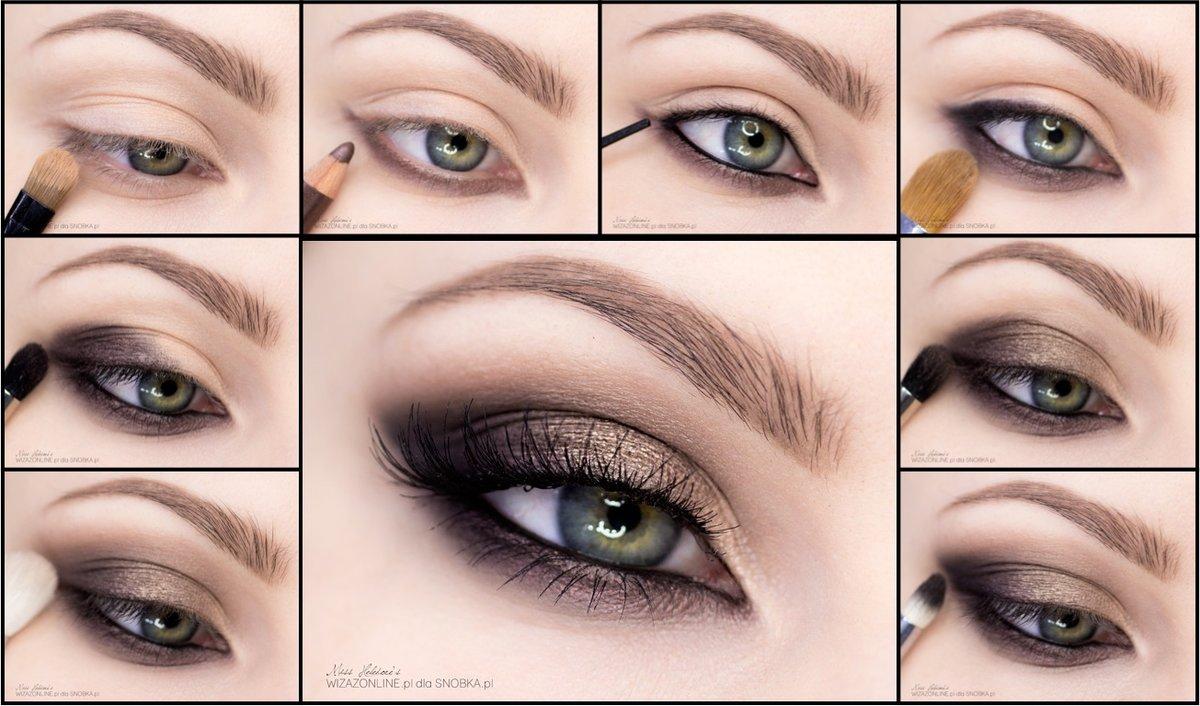 тогда девочки смоки айс для голубых глаз в картинках правило, изображают