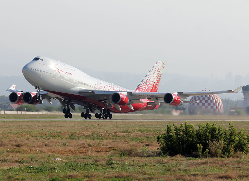 авиакомпания россия двухэтажный самолет фото