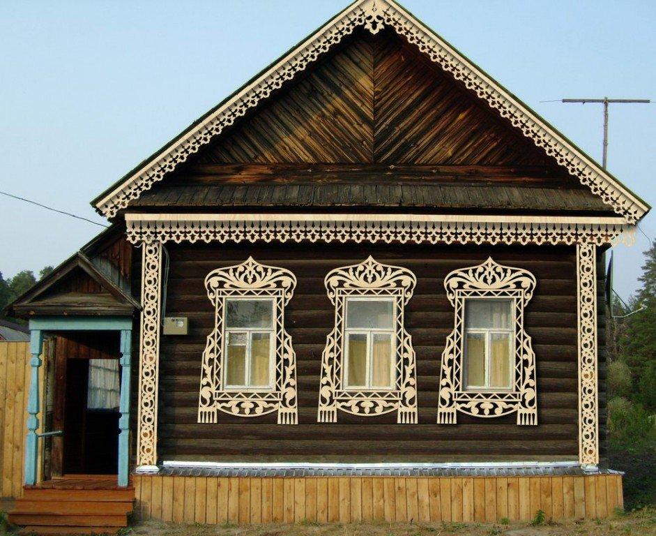 выполнен украшение домов резьбой фото сегодня