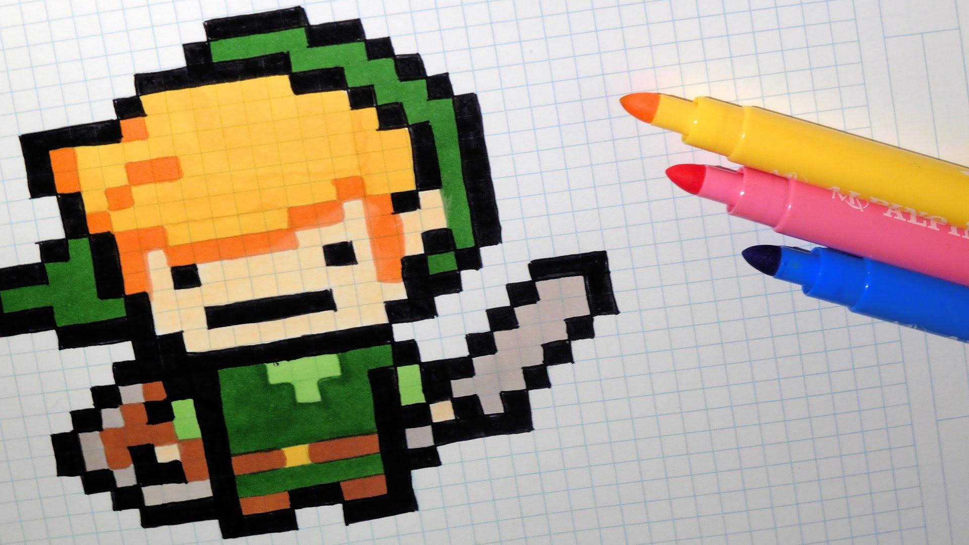 Image Pixel Art Kawaii