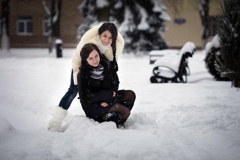 Фото подружек зимой — img 9