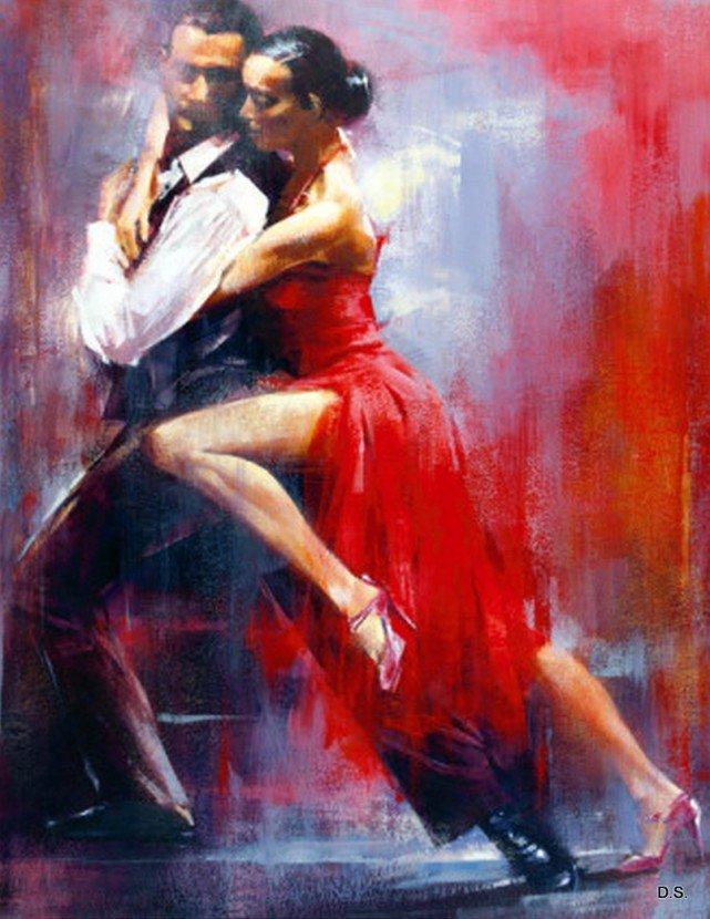 картинки для декупажа танцующие пары препятствовать своим