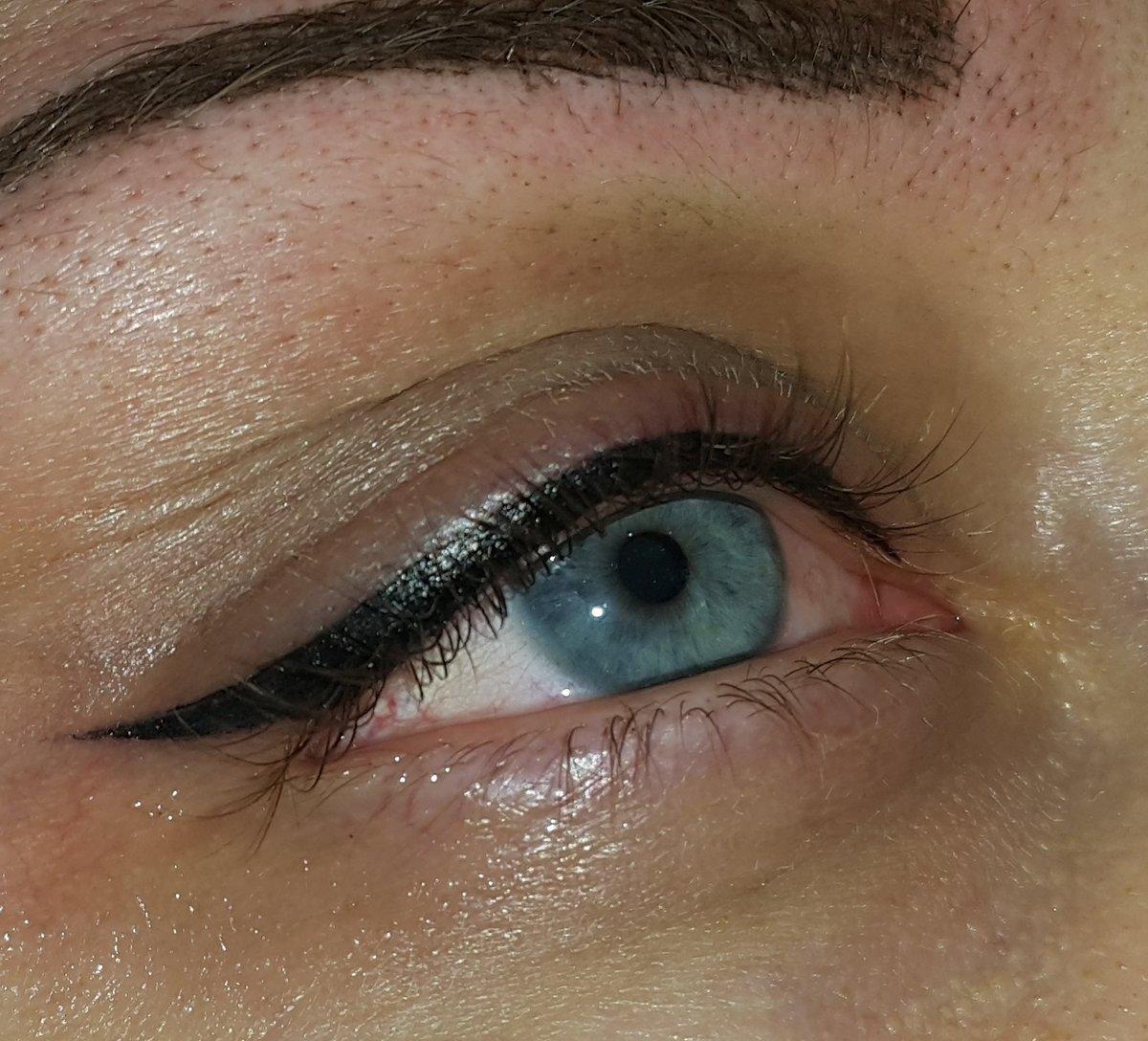 такой фото перманентного макияжа глаз северное сияние