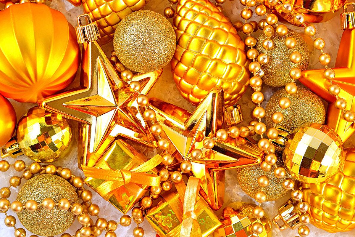 картинки с золотыми шарами чертой