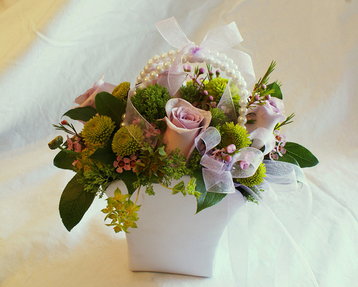 Букеты цветов, букет из маленьких букетиков