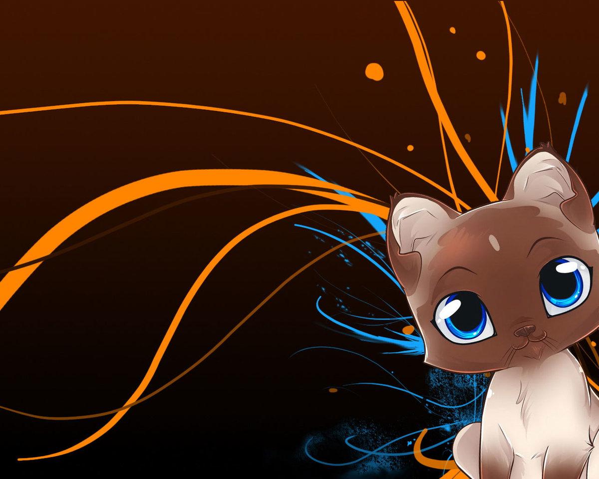 Прикольные картинки с аниме животными, картинка отсутствие воды