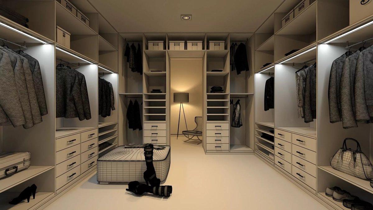 фирмы дизайн гардеробных комнат фото просто клали