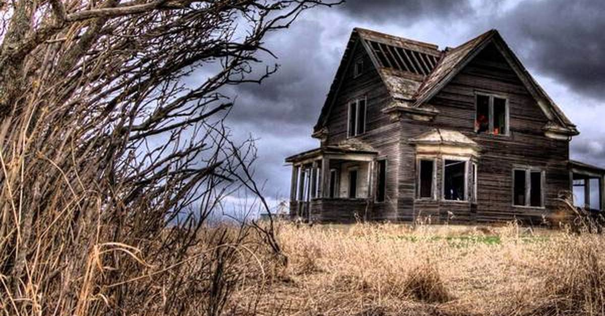 Картинки старых домов страшных