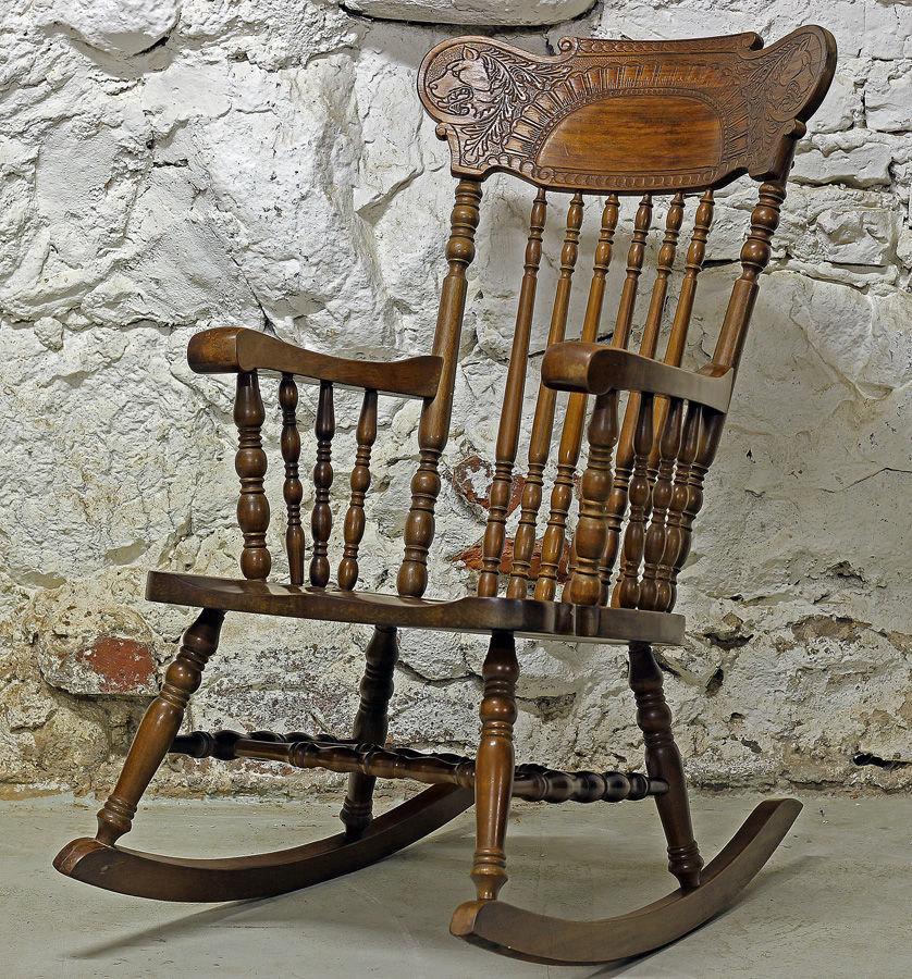 ремонт старинная стулья и кресла качалки фото фигурном
