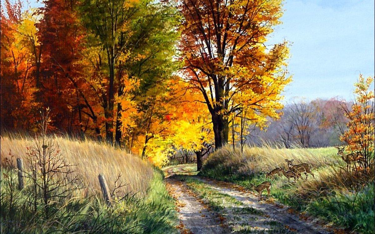 Прикольные картинки лето осень, старый цирк картинки
