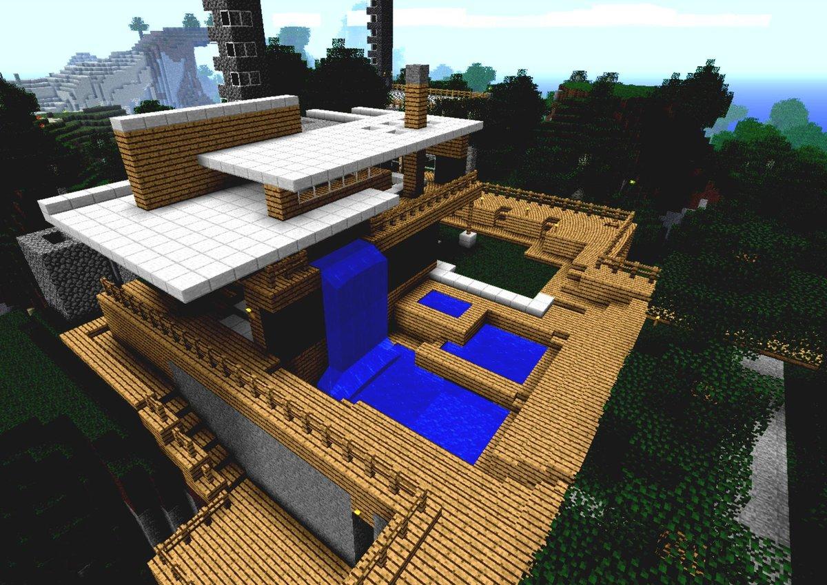 Картинка дом майнкрафт