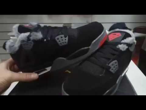 3ed31dc24a8c Кроссовки Nike Air Retro 4 зимние. Кроссовки nike air retro 4 зимние цена  Официальный сайт