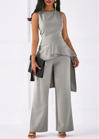 3708c99adc5 ... m grey Jumpsuits   Rompers For Women Online Shop Free Shipping