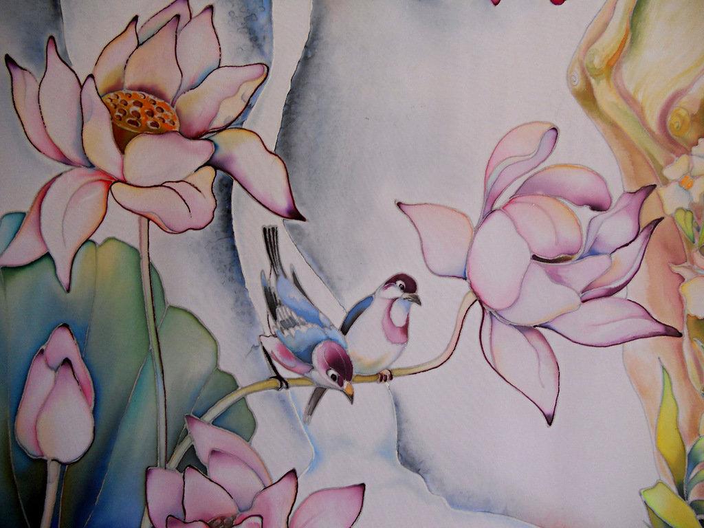 картинки эскизы для батика начинающим этого идеально