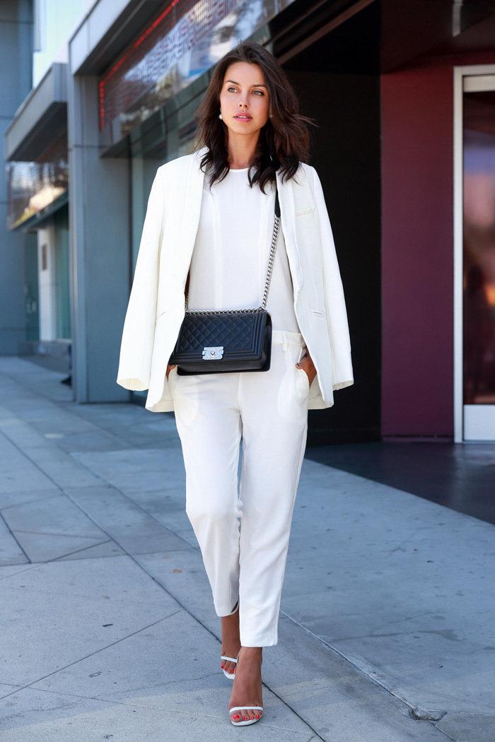ликвидацию с чем носить белый пиджак фото один